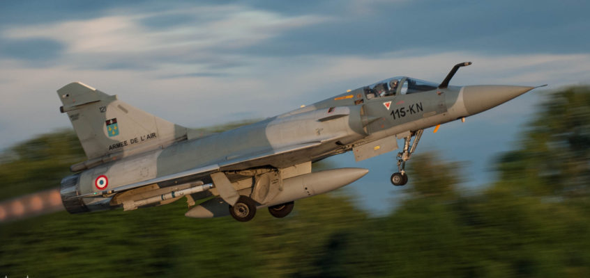 Photo of the day: Early evening take off in Malbork Air Base