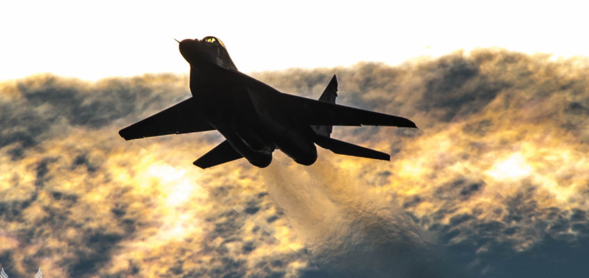 Photo of the day: MiG in the afternoon sun