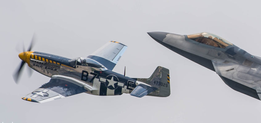 Photo of the day: Heritage flight over Oceana
