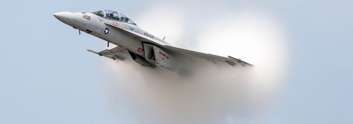 Photo of the day: NAVY cloudy Hornet