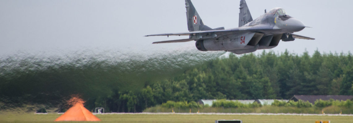 Photo of the day: Proper take off into the week
