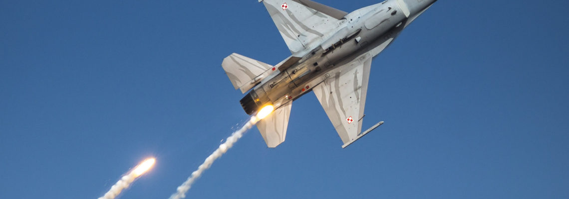 Photo of the Day: Lightshow sponsored by Polish Airforce