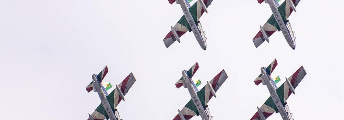 Photo of the day: Frecce Tricolori over Radom's sky
