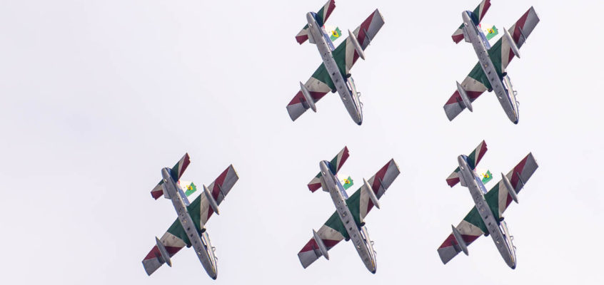 Photo of the day: Frecce Tricolori over Radom's sky