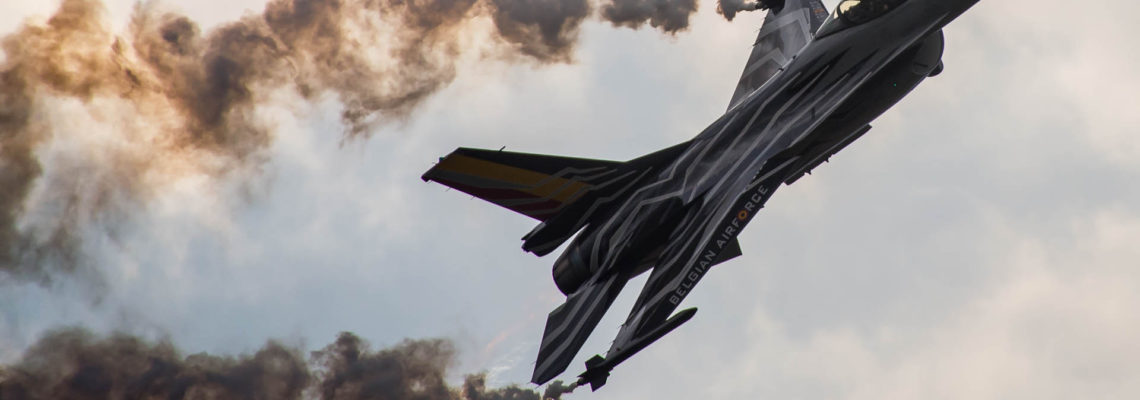 Photo of the day: Belgian F-16 Demo in Radom