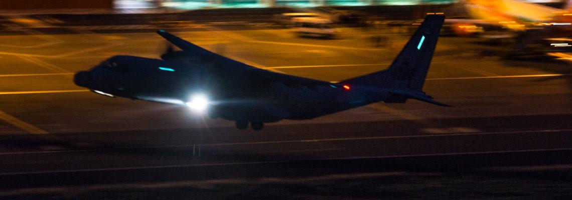 Photo of the Friday: Night emergency flight
