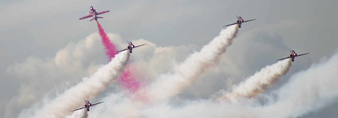 Photo of the day: The Red Arrows