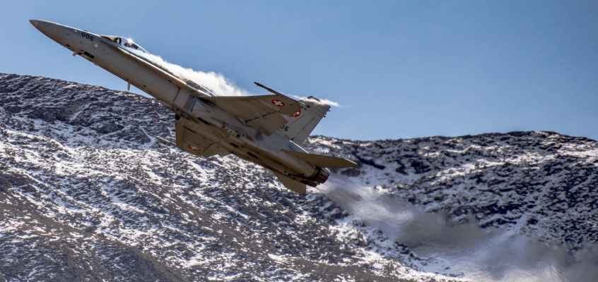 Photo of the day: Swiss Air Force at it's best