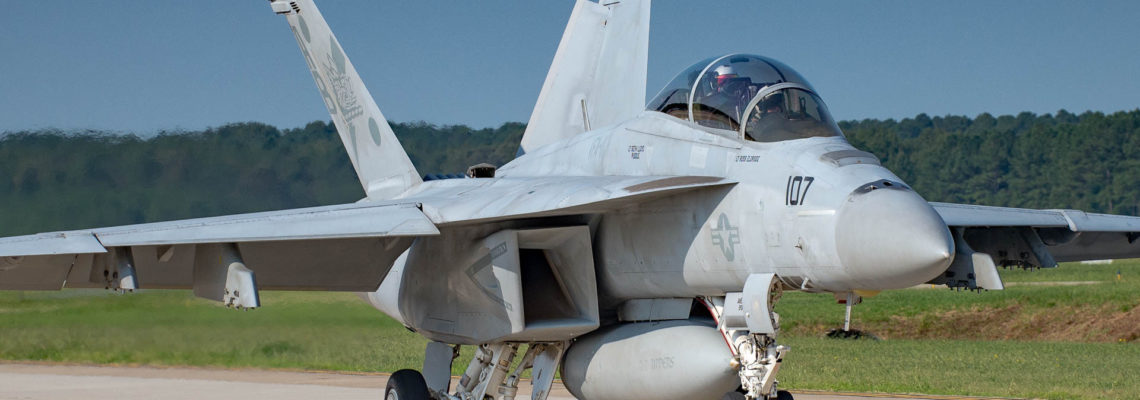 Photo of the day: Cruising around in F/A-18