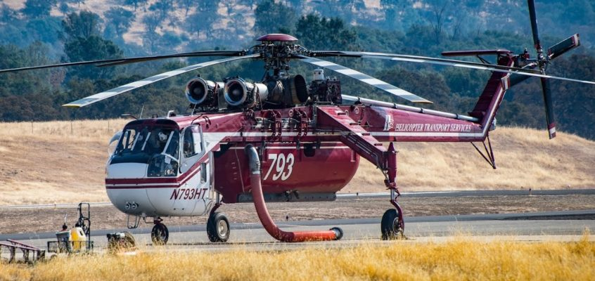 Photo of the day: HTS Skycrane just waiting there..