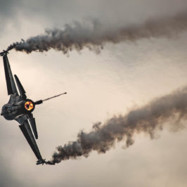 Photo of the day: Burning the air