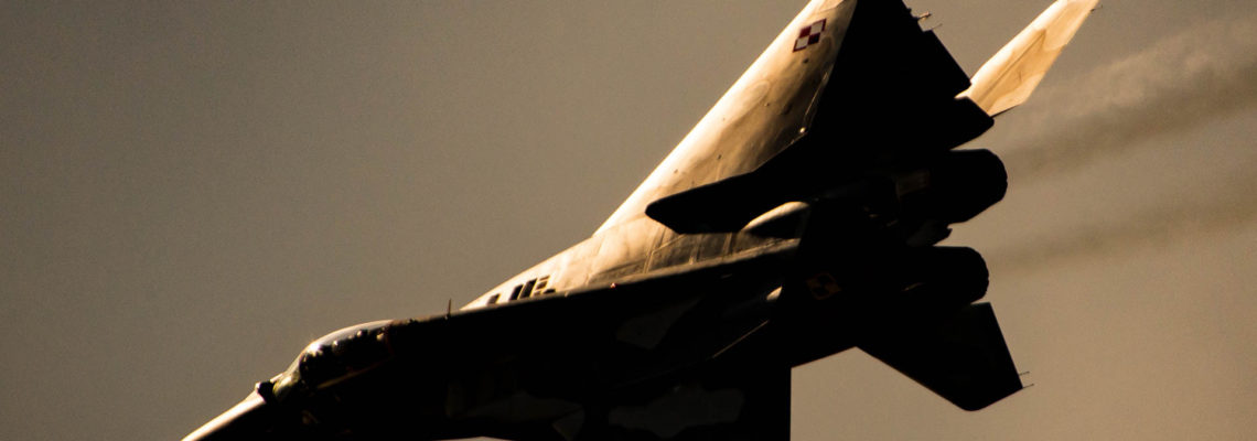 Photo of the day: Golden hour MiG