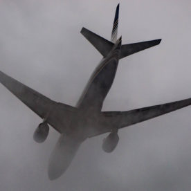 Photo of the day: Cloudy takeoff
