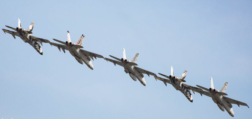Photo of the day: Five in a row