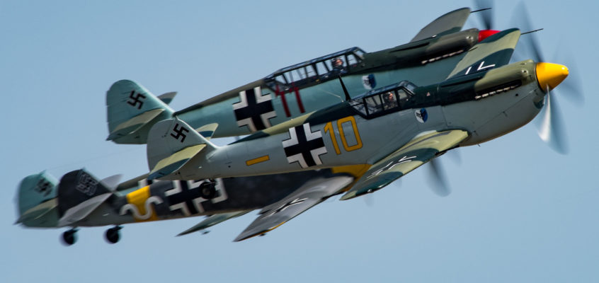 Photo of the day: 'schmits incoming!
