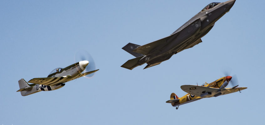 Photo of the day: Heritage Flight